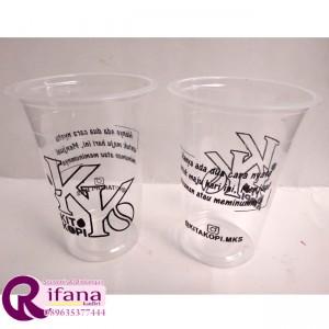 Sablon Cup Plastik Wonogiri