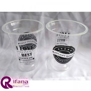Sablon Cup Plastik Wlingi