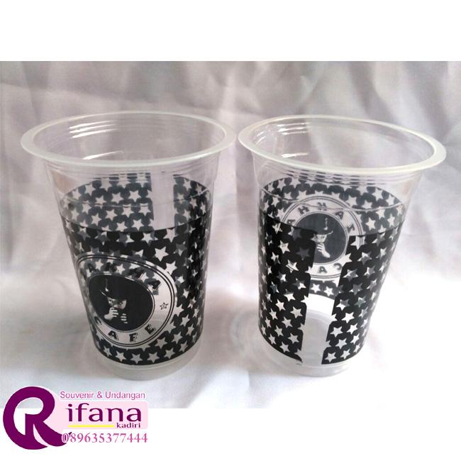 Sablon Cup Plastik Wates