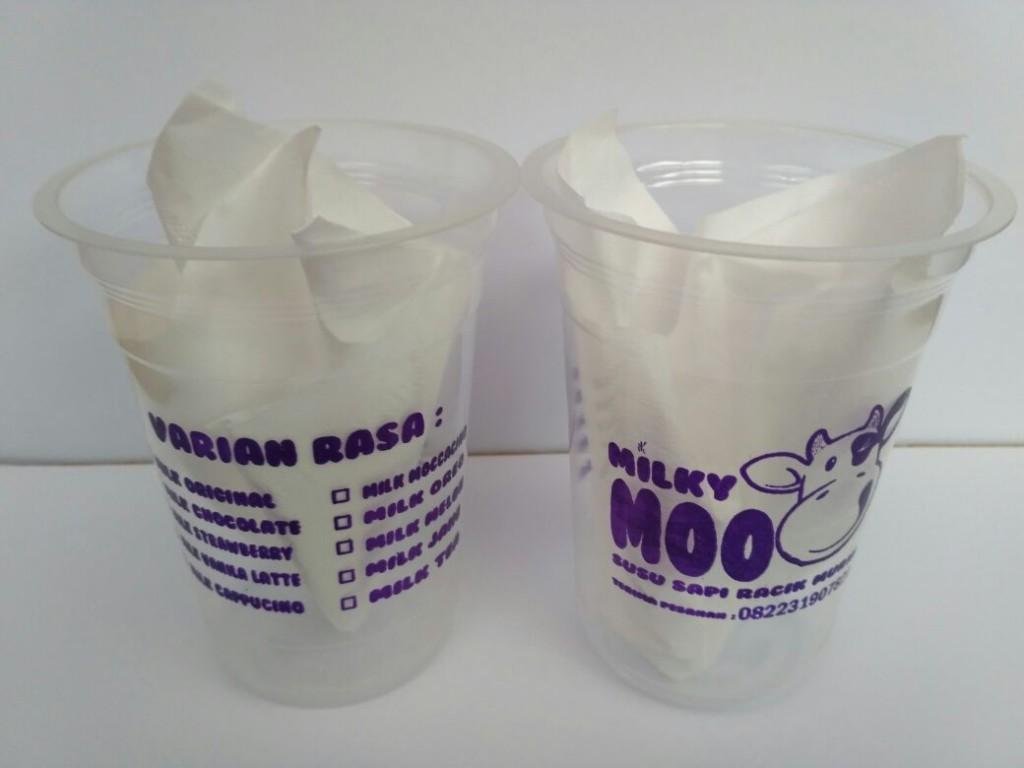 Sablon Cup Plastik Cilacap
