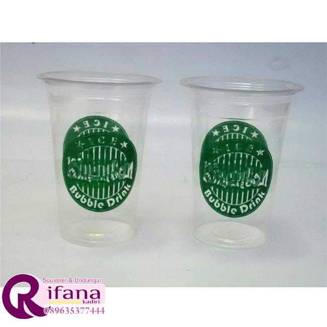 Sablon Cup Plastik Surabaya