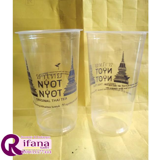 Sablon Cup Plastik Sukoharjo