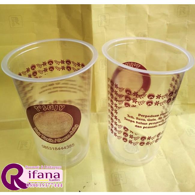 Sablon Cup Plastik Sragen