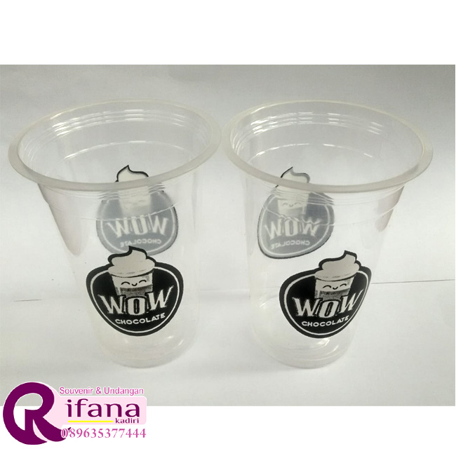 Sablon Cup Plastik Serang