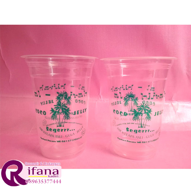 Sablon Cup Plastik Sambas