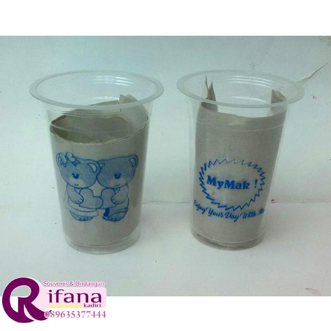Sablon Cup Plastik Rembang