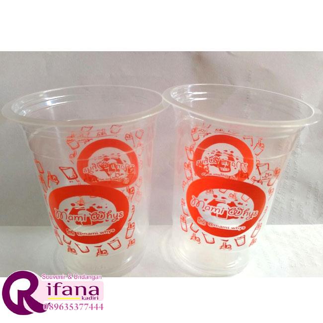 Sablon Cup Plastik Purwodadi