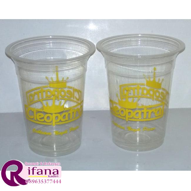 Sablon Cup Plastik Pangkalan Bun