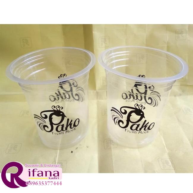 Sablon Cup Plastik Padang