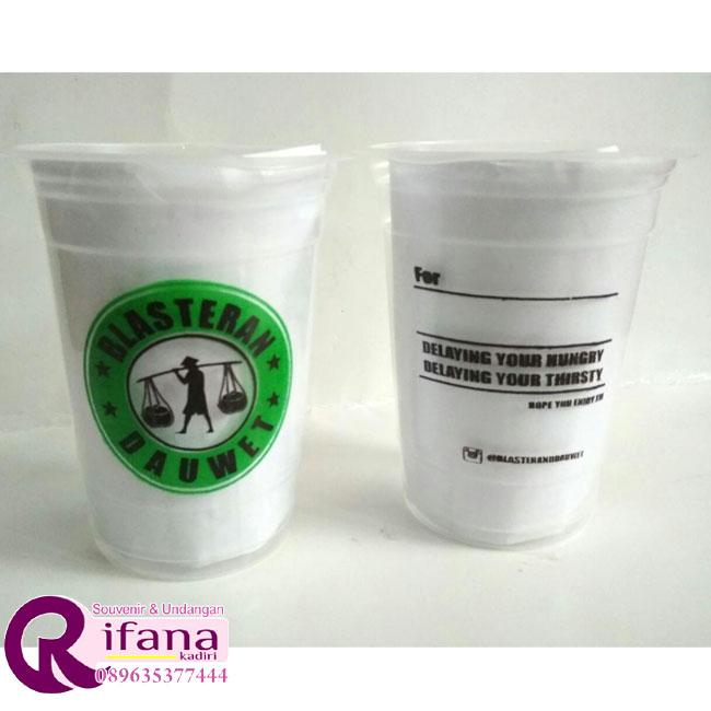 Sablon Cup Plastik Mojosari