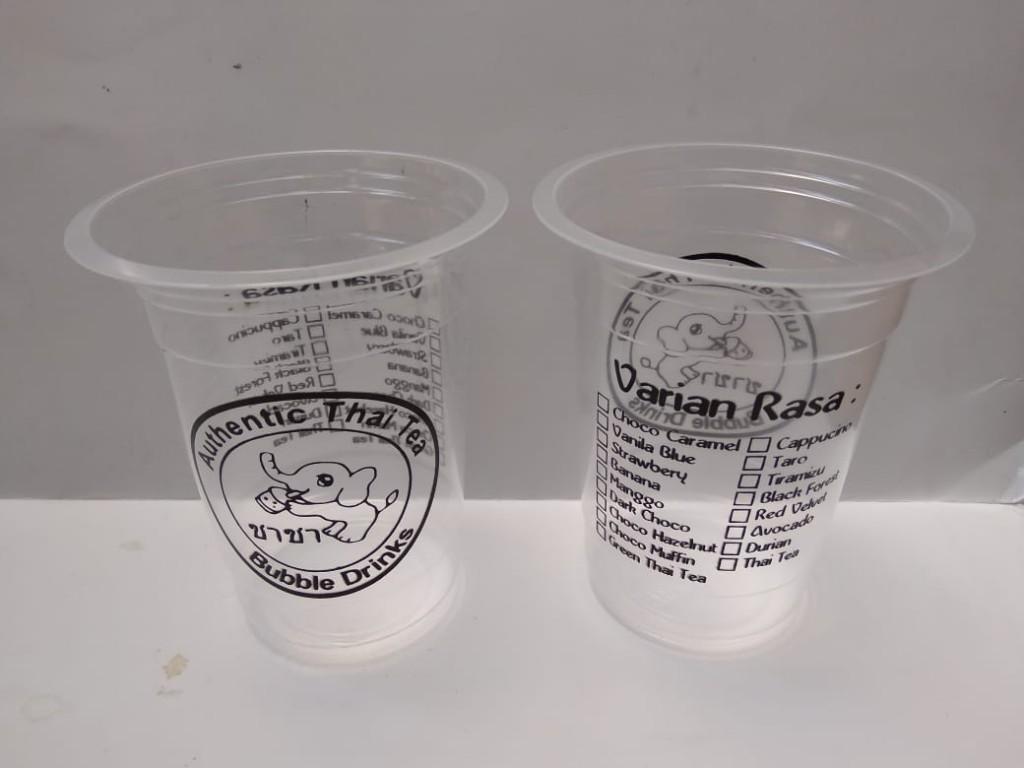 Sablon Cup Plastik Denpasar