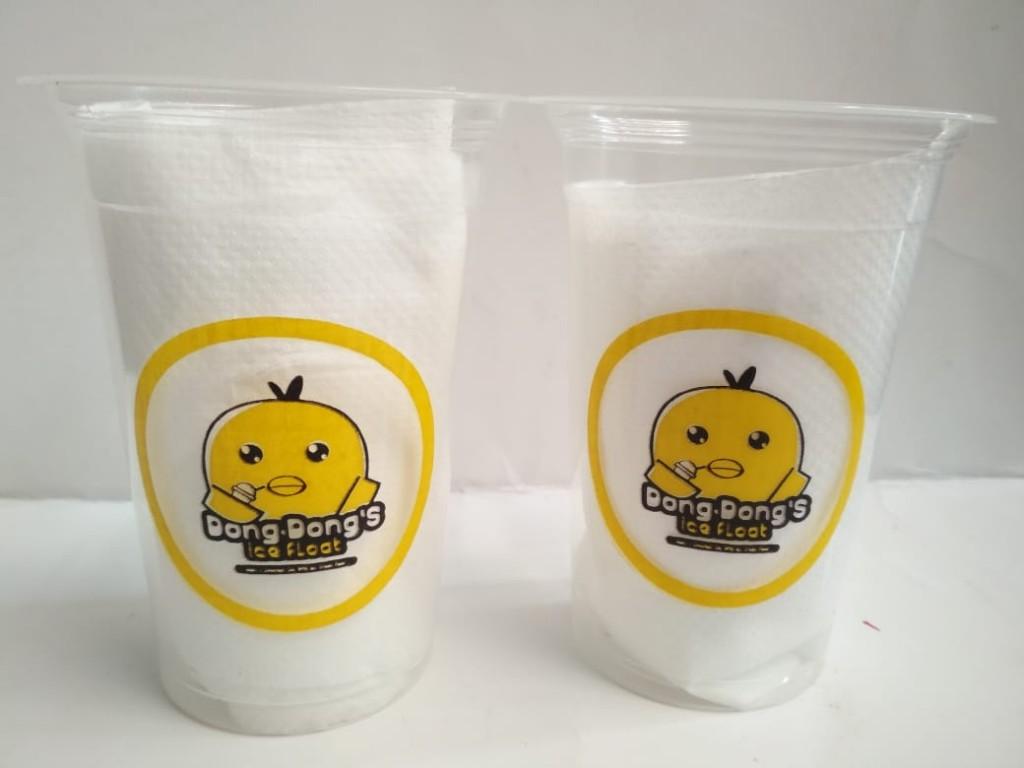 Sablon Cup Plastik Demak