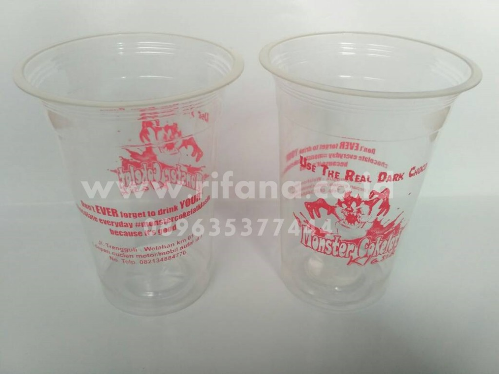 Sablon Cup Plastik Bekasi