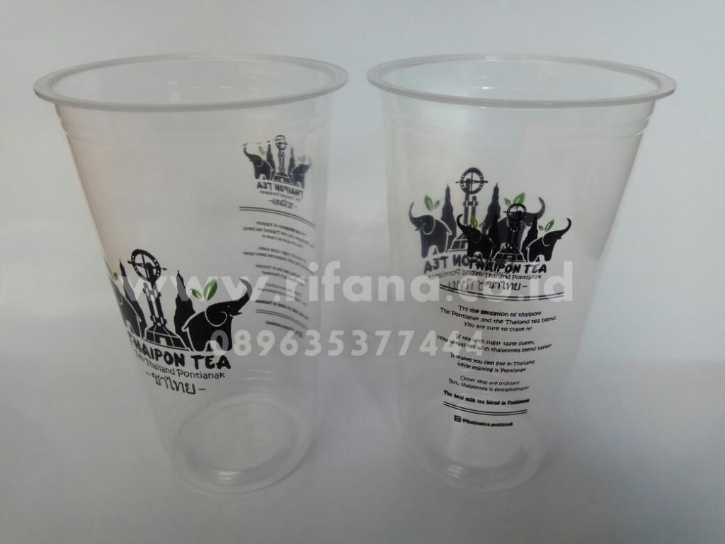 Sablon Cup Plastik Batulicin