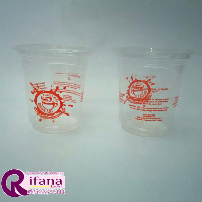 Sablon Cup Plastik Klaten