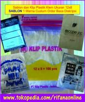 Plastik Klip Uk 12x8